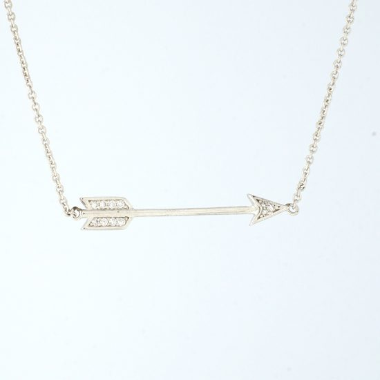 Arrow Necklace (Silver)