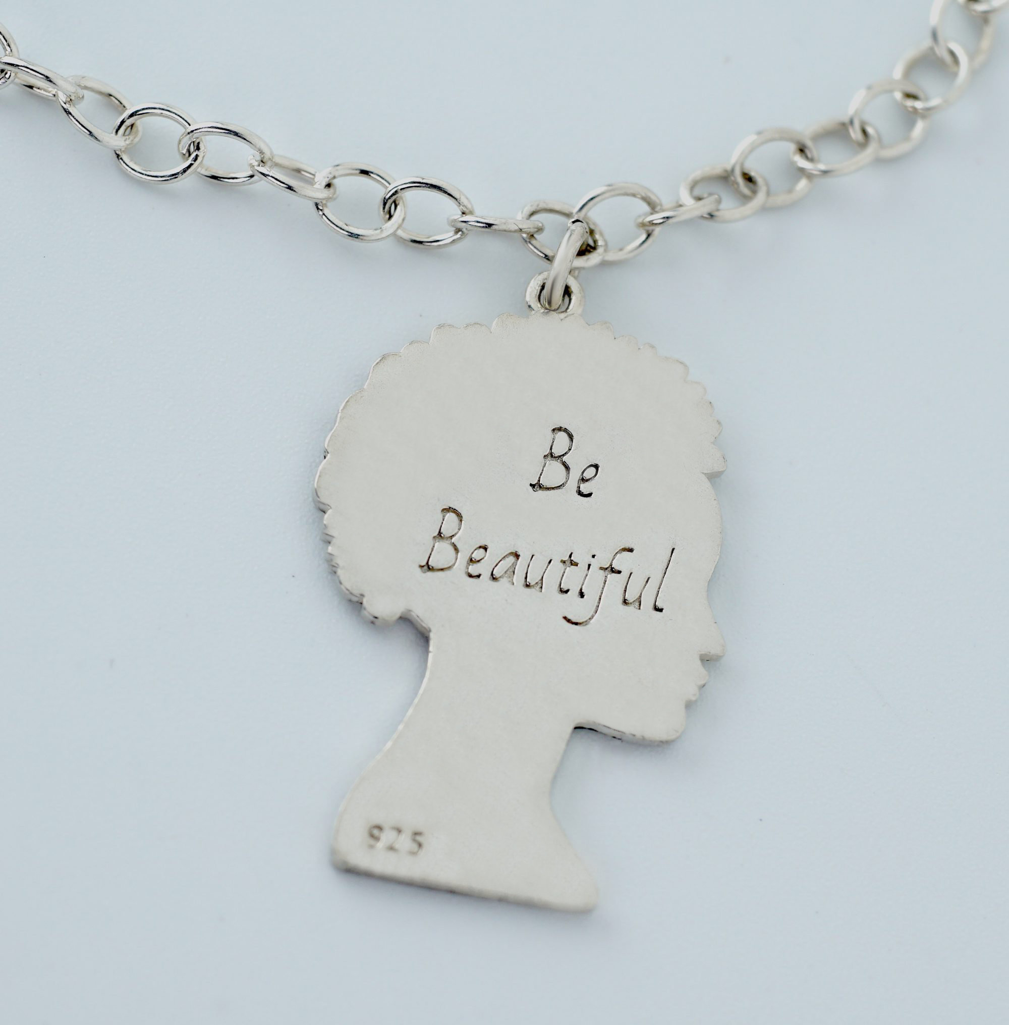 BE Beautiful Sterling Silver Necklace
