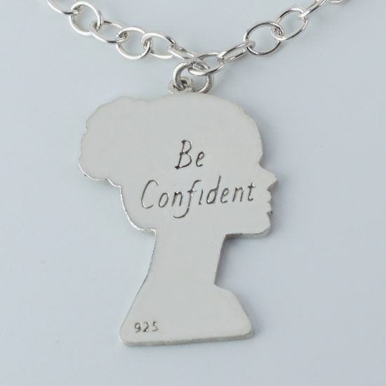 Be Confident Stirling Silver Necklace