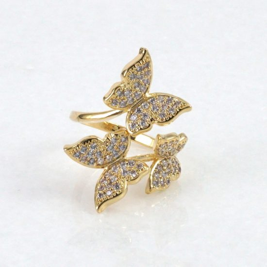 Butterfly Ring (Gold)