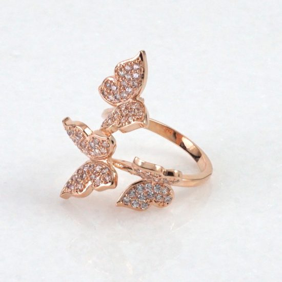 Butterfly Ring (Rose Gold)