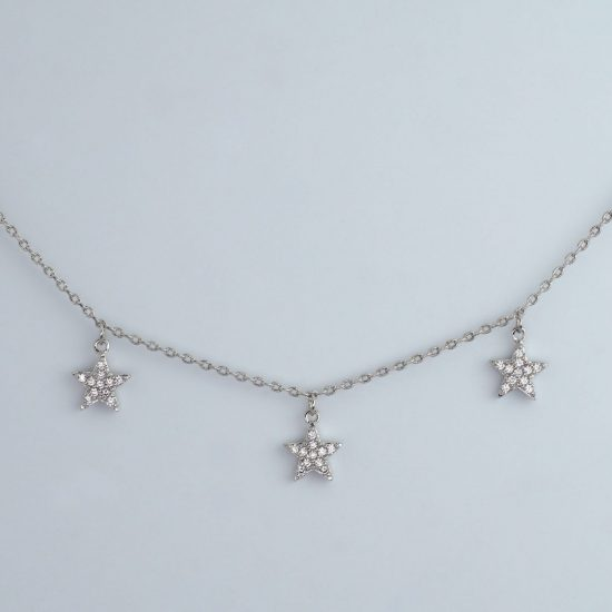 All Star Necklace (Silver)