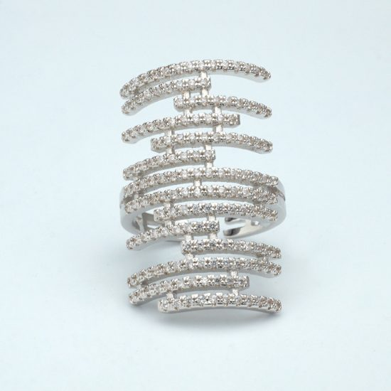 The Lattice Ring (Silver)