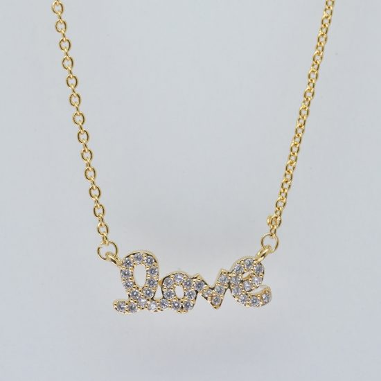 The Love Necklace (Gold)