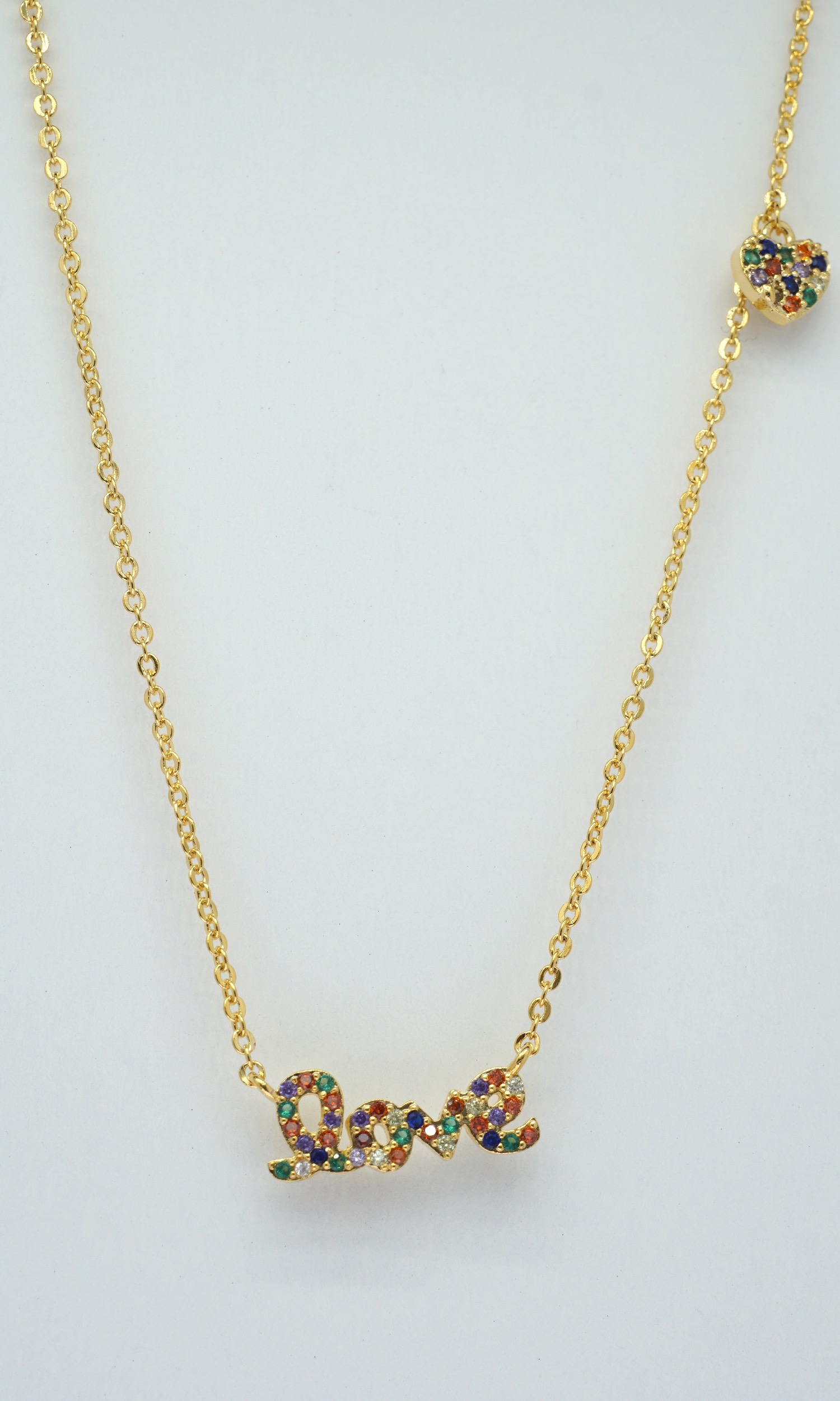 Love Necklace Rainbow