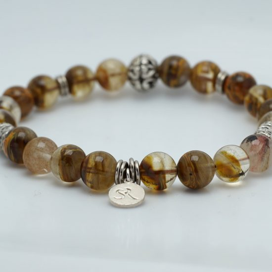 Brown Agate Bacelet