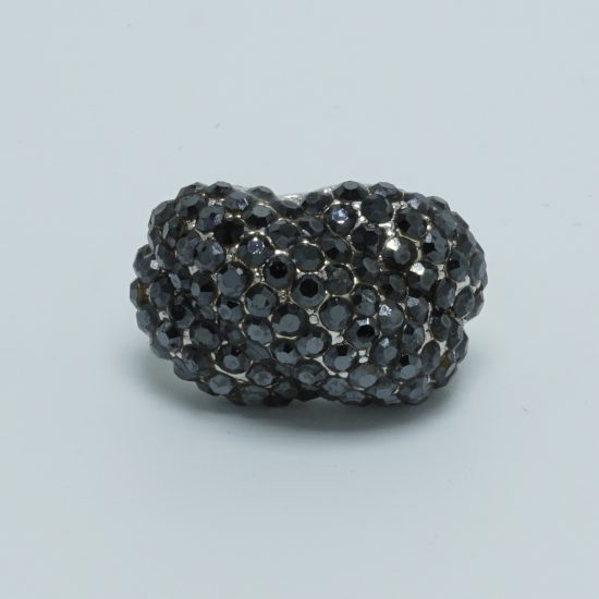 Love Knot Ring (Black)