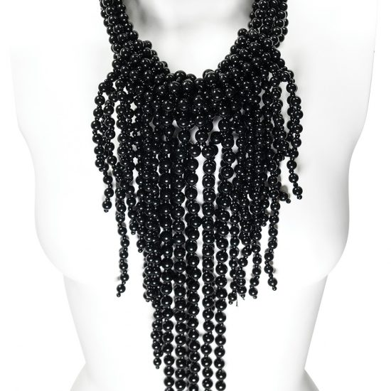 BlackDrape Necklace
