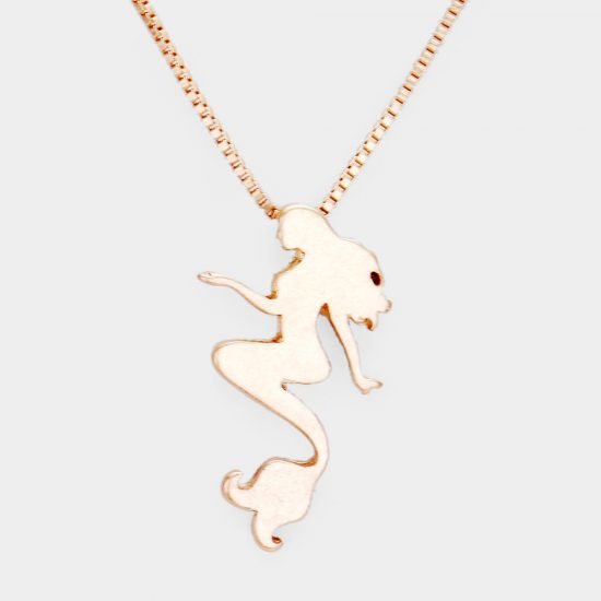 Mermaid Necklace (Gold)