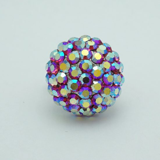 Sphere Ring AB Crystals