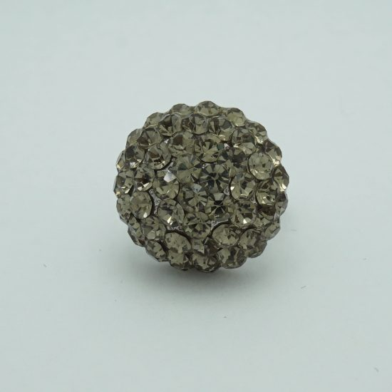 Sphere Ring Grey Crystals